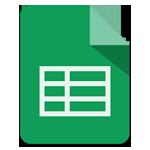 Google表格(Google Sheets)