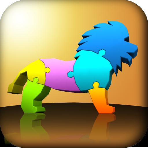 3D动物拼图