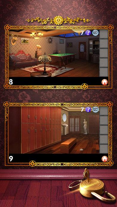 密室逃脱挑战18:逃出豪华的别墅房间