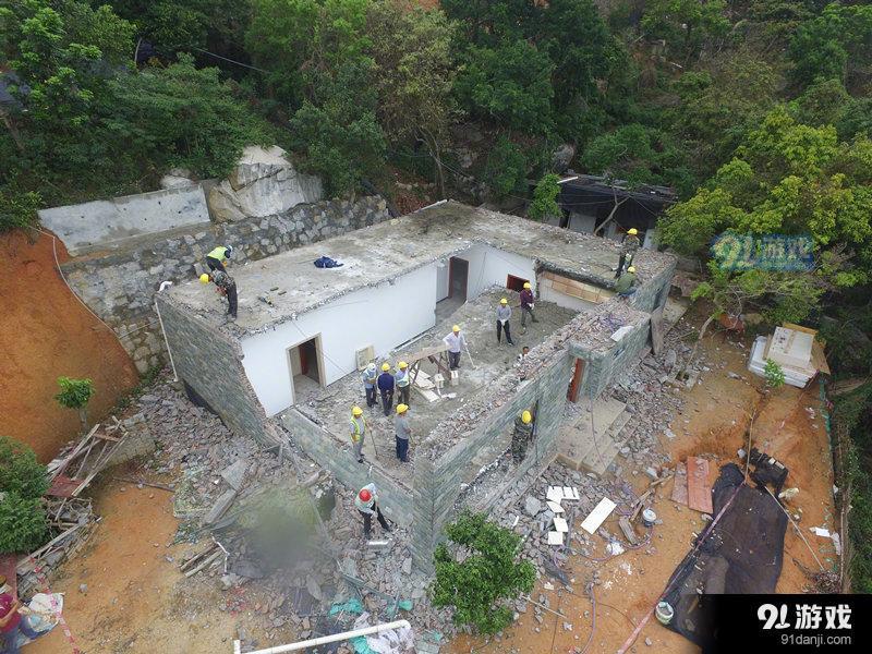 深圳现深山别墅 深山违建导致两千株树木被砍