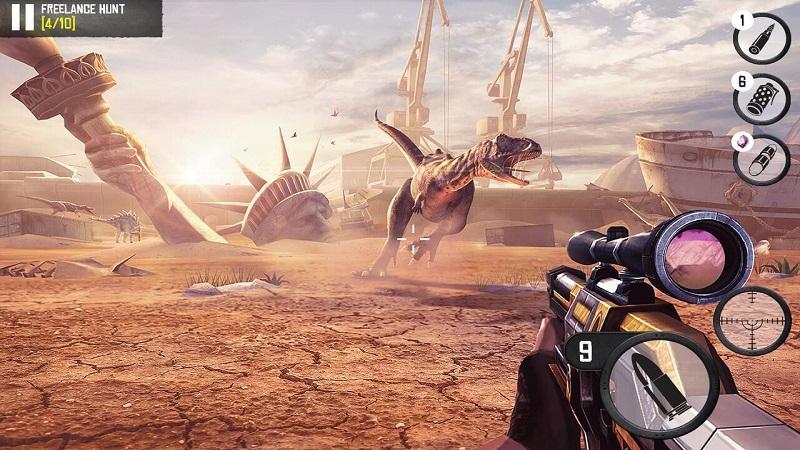 最佳狙擊手:恐龍狩獵