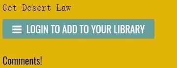 indiegala喜加一!《Desert Law》免费领取地址