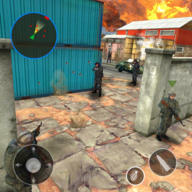 勇者士兵射擊任務游戲