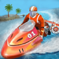 模擬水上特技摩托