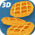 3D煎餅塔