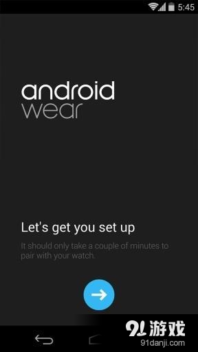 谷歌穿戴Android Wear